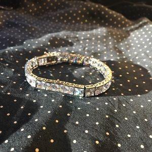 Cubic CZ tennis bracelet